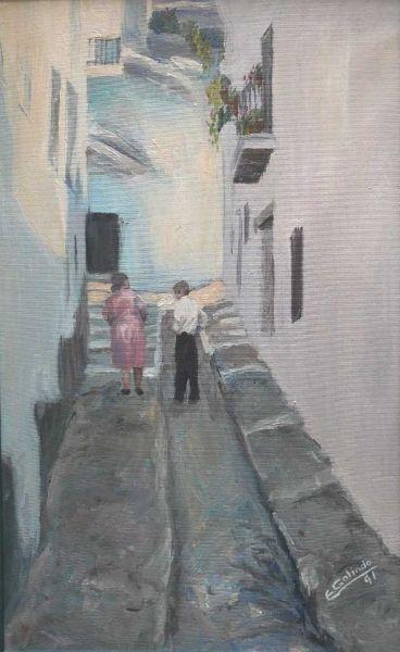 Calle alpujarreña. Colección particular