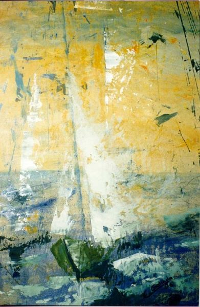 A toda vela. 1996. Colección particular