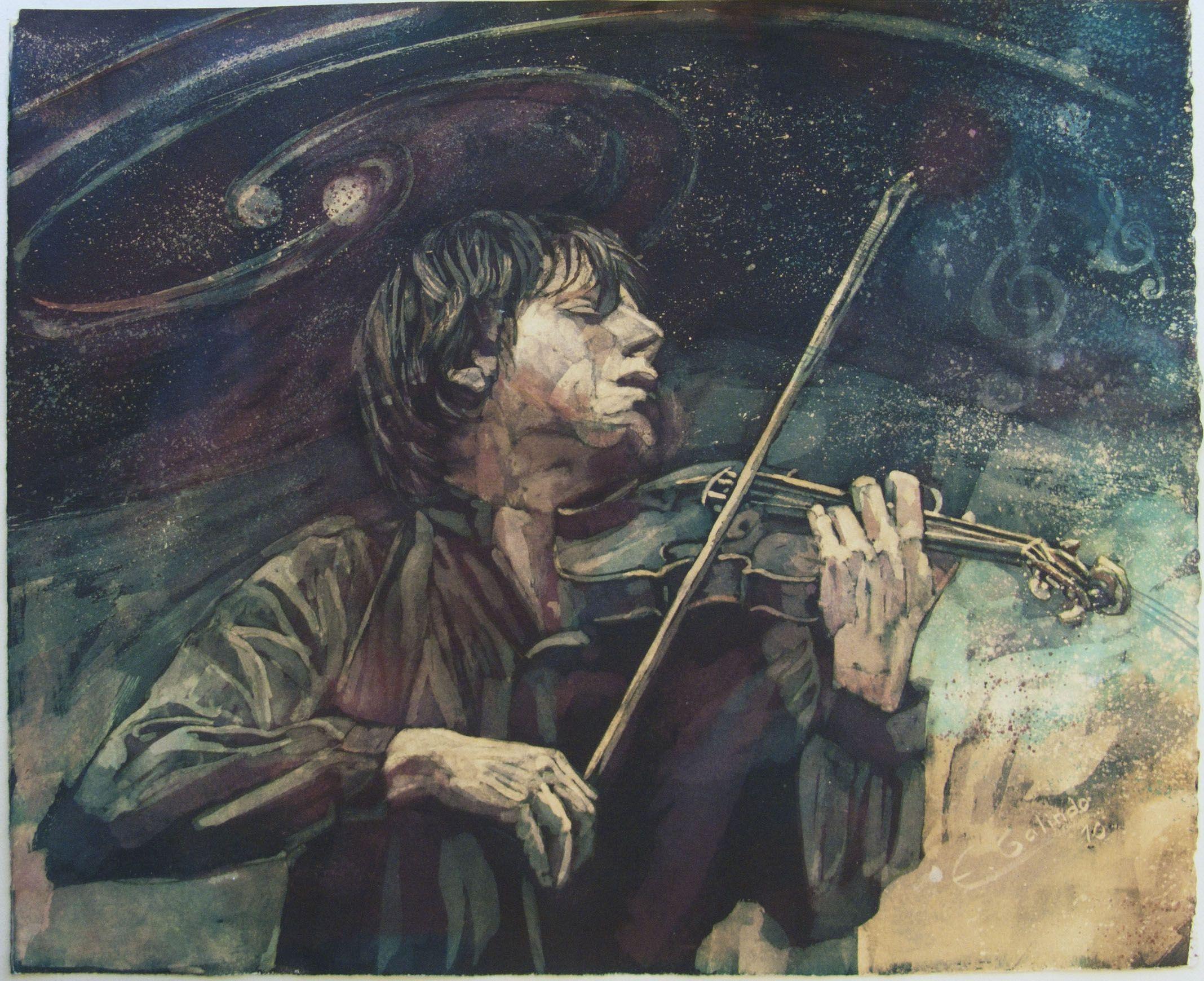 La música esferas II. Contemplar es oir y mirar más allá de la percepción superficial.