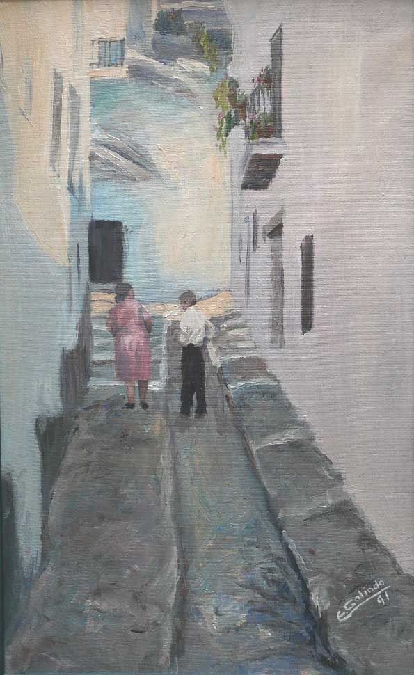 Calle alpujarreña