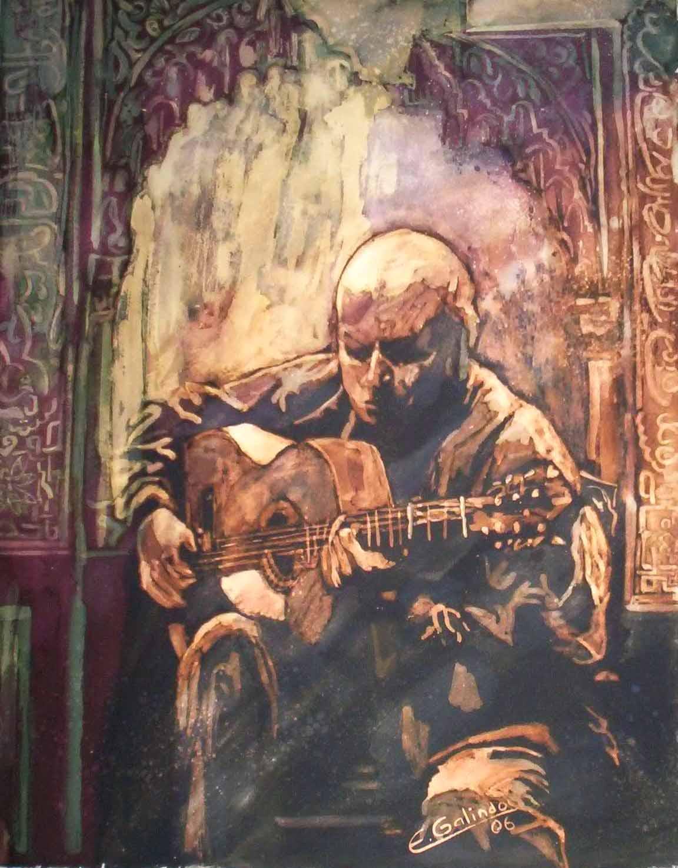 Guitarra de la Alhambra. 2006.