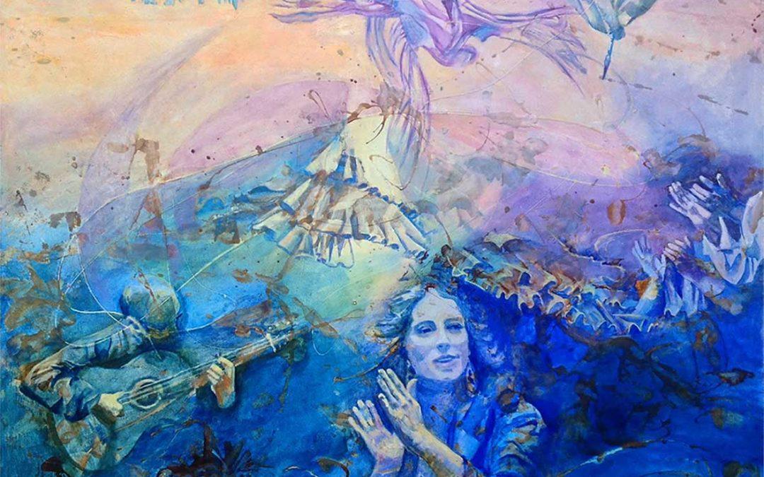 "Mi cuadro ""La vida del artista"" de la cantaora Argentina"