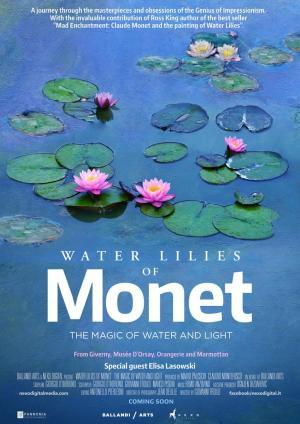 Los nenúfares de Monet. La magia de la luz y el agua