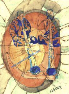Trompas tibetanas III