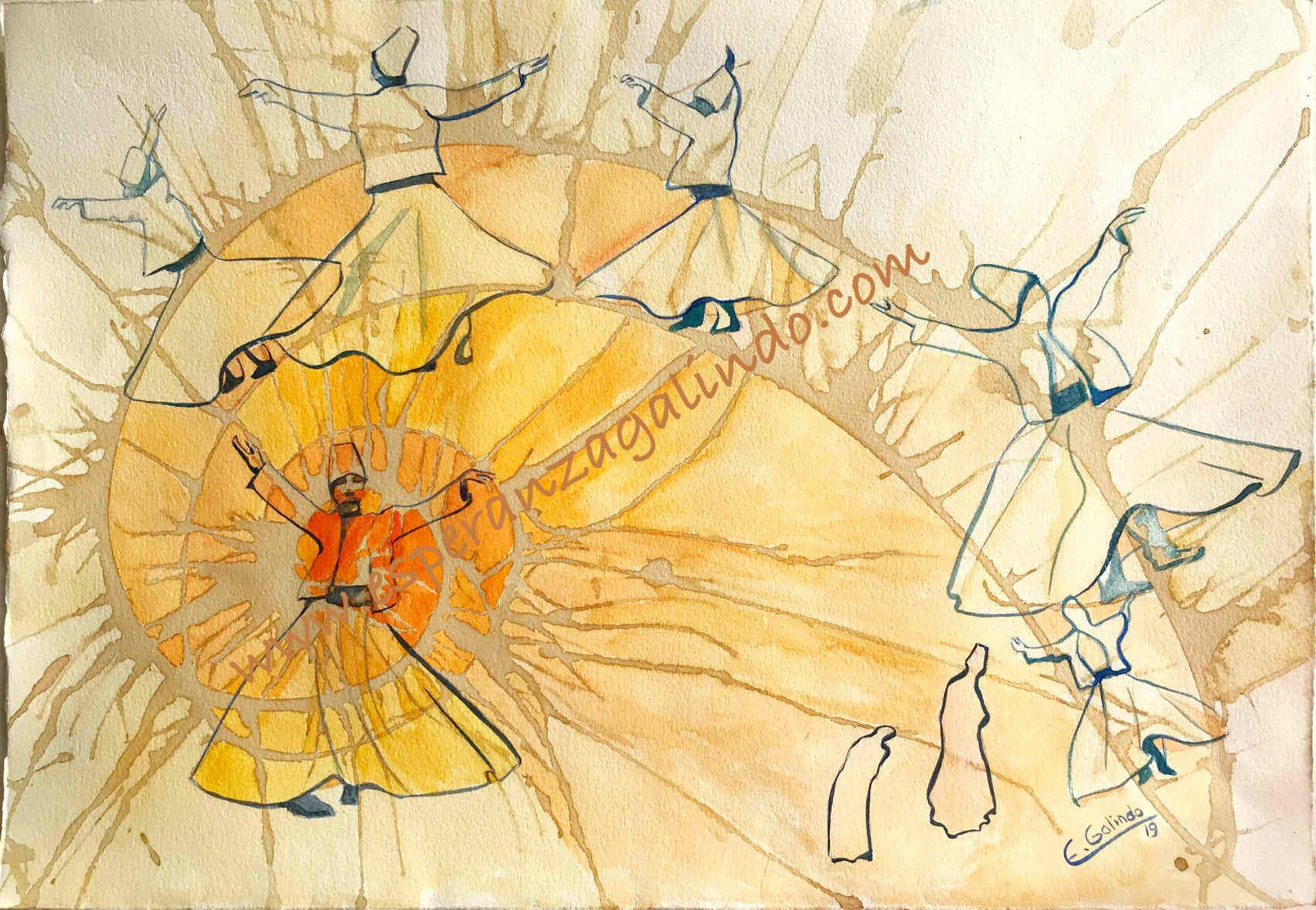 Derviches II espiral