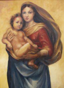 Madonna Sixtina de Rafael